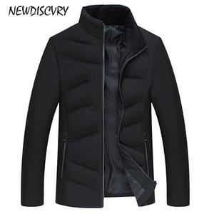 NEWDISCVRY Mens Cotton-padded Jacket 2018 Mode verdicken warme Stehkragen Männer Mäntel Mann Winter Parka Freizeitkleidung Outwear