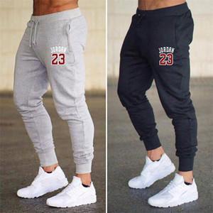 Un nouveau pantalon de sport décontracté pour hommes, 23 pantalons de jogging pour hommes, pantalons de survêtement de gymnastique
