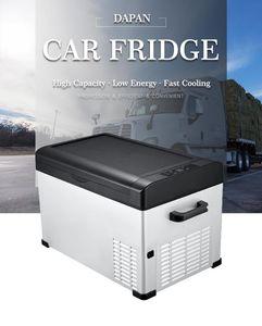 Seyahat Evde Kullanım 12V 24V 220V Araç Kompresör 30L Taşınabilir Buzdolabı Araç Turck RV Tekne Cooler Mini Buzdolabı Dondurucu