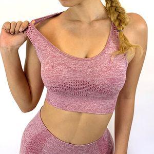 Yoga Outfits Training Kleidung für Frauen Nahtlose Sportanzüge Sport BH Top Hohe Taille Fitness Shorts 2 Stück Gymnastik Set Lauf Sportswear