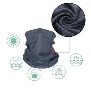 Multi-Functional Parasole Stampato maschera di protezione antipolvere Wristband Hairband Foulard Outdoor Apparel Sportwear Accessori