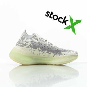 2020 ayakkabı ve spor ayakkabı, ayakkabı tasarımcısı erkek ve kadın spor ayakkabısı çalışan Kanye West 380 v3 Alien için en iyi kalite,