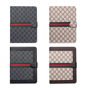 Para o caso de Luxo Ipad para Ipad mini-/ 1/2/3 Grid Moda Vintage Caso PU Tablet Telefone Capa para Ipad Air 10.5 10.2 Casos 12,9 polegadas Pro