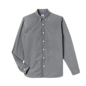 2019 Marke Herren Business Freizeithemd Herren Langarm Einfarbig Slim Fit Herren Fashion Classic Oxford Hemden Herren Designer Hemden