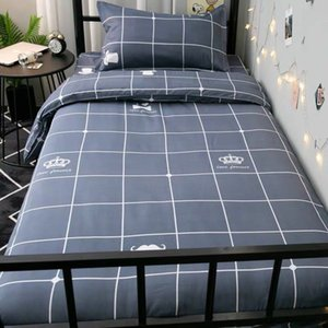 Designer Bettwäsche Kauf wert Doppelzimmer Einzel 1.2 M dreiteilig Studentenwohnheim Bettlaken Bettbezug Bettwäsche Vier-teiliges Set Bettbezug