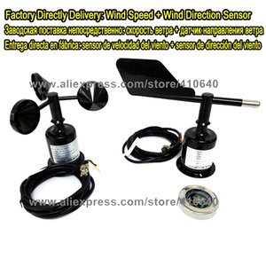 Rüzgar Yönü Sensörü ARTI Rüzgar Hızı Sensörü 12VDC Güç Kaynağı RS485 Modbus Sinyal Çıkışı 4 ila 20 mA 0 ila 5 V Ayrıca Mevcut