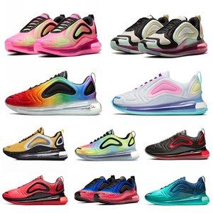 Nike Air Max 720 720s Laufschuhe für Herren Damen Triple Schwarz Weiß Sea Forest Carbon Grau Total Eclipse 72C Athletic Outdoor Sports Sneakers 36-45