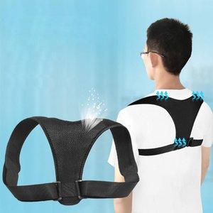 Loogdeel Retour Posture Correcteur Corset Clavicule Colonne vertébrale Posture Correction Retour Ceinture de soutien pour hommes femmes et des enfants