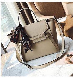 New Female Bag Designer Wild Handbag Fashion Luxury Handbag Commuter Scarf One Shoulder Messenger Bag