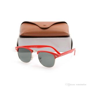 10 stücke Klassische schwarze Sonnenbrille Unisex Sonnenbrille Herren Gläser Womens Sonnenbrille Marke Designer Sun Glassess mit Original Cases Boxs