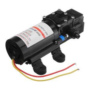 Bomba de diafragma autocebante agua al por mayor demanda de 12V DC 60W 0.6Mpa fresco Mini diafragma bomba de agua de baja presión