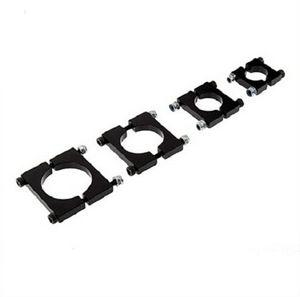 Uav multi-axis carbon tube clamps 12 16 20 22 25 30mm carbon fiber tube aluminum alloy tube clamps