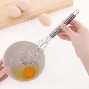 Griffs-Creme Whisk Mixer 10 Zoll-Edelstahl-Ei-Klopfer Küche Eiercreme Werkzeuge Rühren Beater Backen Mehl Mixer BH3062 TQQ