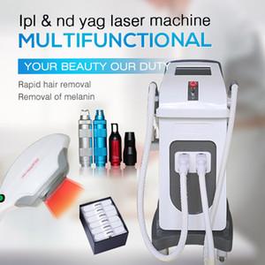 الشعيرات المنتج إزالة الشعر لنزع الشعر الجديدة الشعيرات الخفيفة البريد جهاز إزالة الشعر IPL الترددات اللاسلكية الثانية YAG آلة الليزر متعددة الوظائف