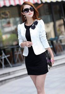 High end perfect Designer best quality sell like hot cakes Women's short coat Cultivate one's morality In autumn temperament new sweet