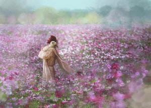 a053 # Yongsung Kim DURULTMA EMBRACE İsa sarılma Kuzu Çiçekler Ev Dekorasyonu Handpainted HD Yağı 0110 tarihinde Tuval Wall Art Resimler Boyama Baskı