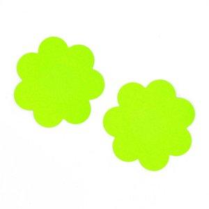 Blume Form Einweg unsichtbare Brust Aufkleber nackt BH wasserdicht hervorstehenden Punkt Brust Stick 14 Farbfleck direkt ab Werk