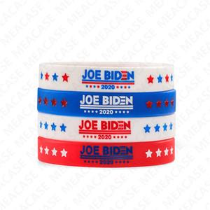 Joe Biden para Presidente D7211 pulsera de silicona pulsera de goma pulseras pulsera de los brazaletes 2020 EE.UU. América votación Accesseries barato