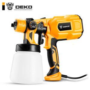 DEKO DKCX01 Pistola, 550W 220V High Power Home elétrica pulverizador pintura, 3 Bico Fácil Spraying e limpo perfeito para iniciantes