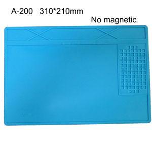 Wärmedämmung Arbeitsmatte Lötstation Eisen Telefon Computer-Reparatur-Mat Magnetic Hitzebeständige BGA Insulator-Plattform