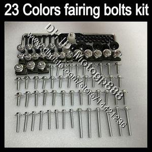 OEM Body full bolts kit For SUZUKI Hayabusa GSX R1300 GSXR1300 08 09 10 12 2008 2009 2010 2012 GP163 Fairing Nuts screw bolt screws Nut kit