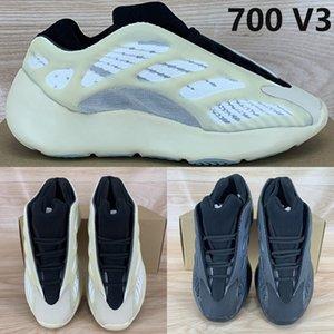 700 V3 Azael alvah OG كاني ويست الاحذية تتوهج في الظلام أزياء الرجال في الهواء الطلق أحذية رياضية النساء المدربين EUR 36-45