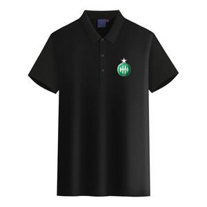 ASSE Логотип футбольного клуба мужской моды Golf Polo Футболка мужская с коротким рукавом поло футболки