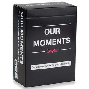OUR MOMENTS Couples Conversation Starters for Great Relationships Fun Cards Game Adult Board Game Card