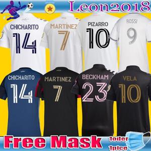 2020 hombres hijos LAFC Carlos Vela jerseys del fútbol 2021 Inicio de Los Angeles FC Beckham LA Galaxy Chicharito Atlanta Estados MARTINEZ las camisas del fútbol
