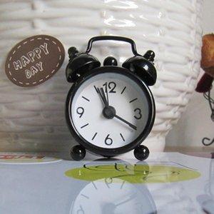 Будильник Круглый номер Double Bell стол Таблица Цифровые часы Домашние декорации
