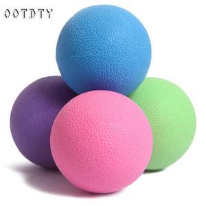 OOTDTY Balle de lacrosse Mobilité Myofascial Trigger Point Release Body Balls Yoga Massage
