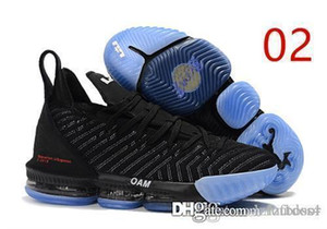 2019 кроссовки Basketball Shoes J 16 The Fresh Bred Triple Black White мужские ботинки 16s мужские спортивные кроссовки кроссовки LZFOUT4