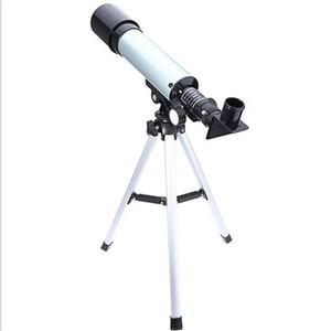 Telescopio astronomico F50360 Telescopi portatili ad alta definizione Visione notturna Deep Sky Star View Escursionismo Strumento Regalo per bambini 53yy N1