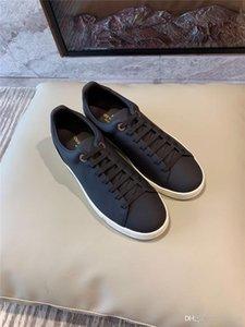 20FW 2019 Nova Primavera Tenis Feminino Lace-up sapatos brancos Mulher PU Leather Sólidos Calçados Cor Feminino Casual Women Shoes Sneakers # J30 YETC3