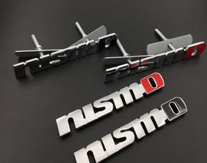 NOUVEAU Métal 3D Autocollants De Mode De Voiture Avant De la Grille Emblème Grille Badge Pour Nissan Nida Tiida Teana Qashqai Almera Juke X Trail Accessoires