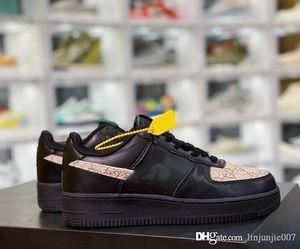 2020New Uomini Donne Low Cut One 1 Casual Shoes Bianco Nero dunk Sport Skateboard scarpe classiche AF Fly formatori alta Sneakers5.5-11