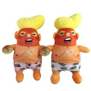 Trump gros Soft peluche Jouets Modèle Poupées d'enfants colorés Cadeaux Jouets en peluche Poupée enfants Toy Dolls Trump modèle BC BH0549