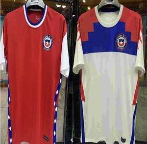 2020 МЕДЕЛ Чили главная красный от Белый мужской размер Копа Америка футбол Джерси Алексис Видаль Э. Варгас футболка camiseta де футбол Футбол рубашка s-2XL с