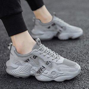 2019 осенняя мужская обувь корейская версия тренда спорта и отдыха дышащая ins old network red running wild tide обувь размер 39-44