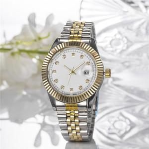2019 Nuovo vestito signora calendario della moda modello di orologio di lusso marca famosa pieno di diamanti Man donne orologio da polso di alta qualità