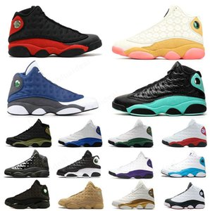 Good Quality Men Outdoor Shoes Trainers REVERSE HE GOT GAME LUCKY GREEN Cap and Gown Love &Respect Basketball SHOES Flint Court Purple Ivory