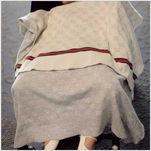 2020 90 * 120cm bébé nouveau-né couverture tricotée Swaddle Wrap Couvertures Super Soft Tout-petit bébé Literie Quilt Canapé-lit Couvertures poussette panier