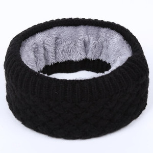 2020 Fashion Winter Warm Infinity Scarf Double-Layer Thick Fleece Outdoor Ski Windproof Scarves Gifts for Women Men