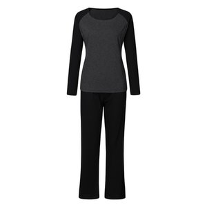 Pregnant Women Maternity Pajamas Outfits Casual Cotton Pregnancy T-shirt Tops Elastic Long Pants Ladies Home Sleepwear Pijamas