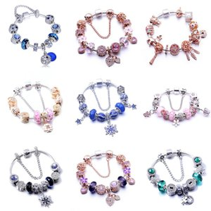 4 1 Pcs Set Charm Bracelet Braid Leather Multilayer Vintage Anchor Beads Jewelry For Men Women Fashion Diy Hand Rope Wrap Cuffs Strands#990