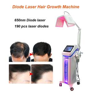 salon kullanımı için Yeni Diyot Laser 650nm derisi tedavi saç büyüme lazer makinesi