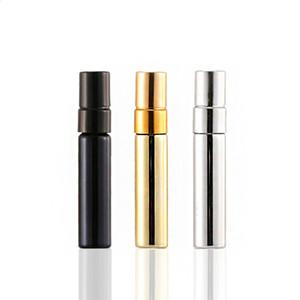 5ML Taşınabilir Sprey Şişe Cam Şişeler Kapak Şeffaf Cam Boş Doldurulabilir Parfüm Şişesi Ambalaj Şişeleri CCA12154 1000pcs Şişe Sprey