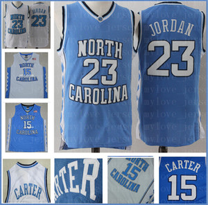 NCAA Jersey 23 Michael MJ maglia Mesh Retro North Carolina State University Basketball Maglie 8zxcviuxcviouxvz