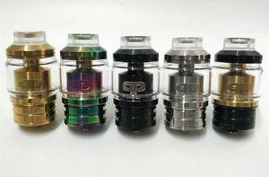 2019 nuovo vape rda atomizzatore clone QP fatality M25 rta per sigaretta elettronica mod vape arcobaleno nero oro argento sigaretta fumo colorata
