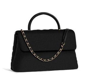 Doppio Flap catena newset 25 centimetri Bag Sacchetti della signora con la maniglia di donne Plaid catena borsa di cuoio reale della borsa Crossbody Tracolla Messenger